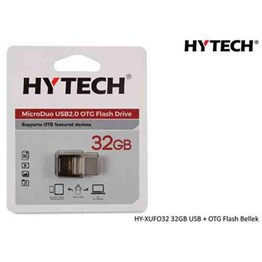 HYTECH HY-XUFO32 32GB USB + OTG Flash Bellek