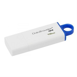 KINGSTON DTIG4-16GB 16GB USB FLASH BEYAZ MAVI