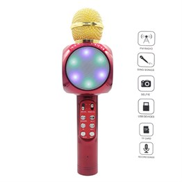 PETRIX PT RS533LED(WS-1816) KARAOKE LED MİCROPHON
