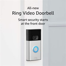 RING KAPI ZİLİ HD VIDEO 2. GEN SATI NICKEL