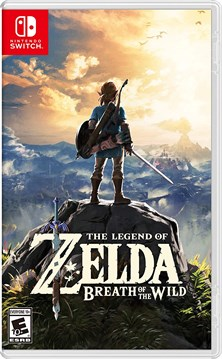 NINTENDO THE LEGEND OF ZELDA : BREATH OF THE WILD